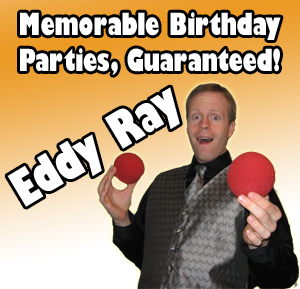Pennsylvania Birthday Magician Eddy Ray