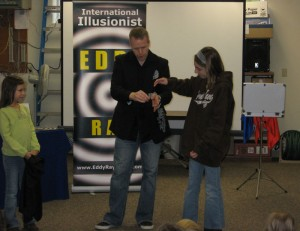 Pennsylvania Magician Eddy Ray Performs An Escape